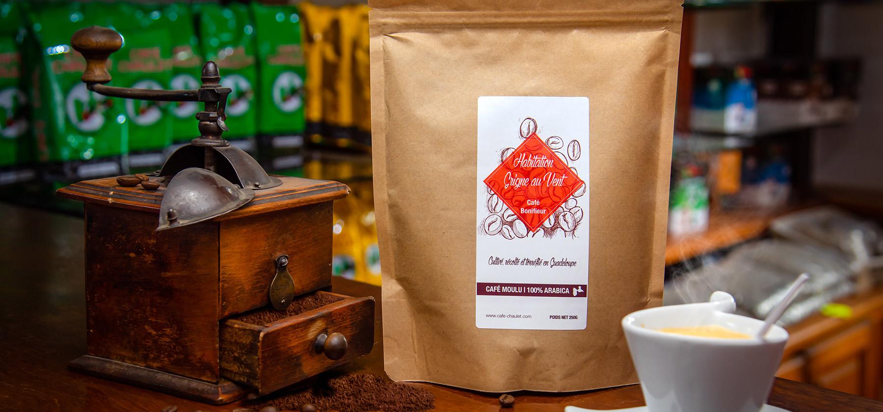 Café chaulet guadeloupe la boutique